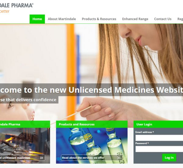 Martindale Pharma Unlicensed Medicines Website