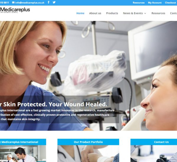 Medicareplus International Global E-Commerce Website