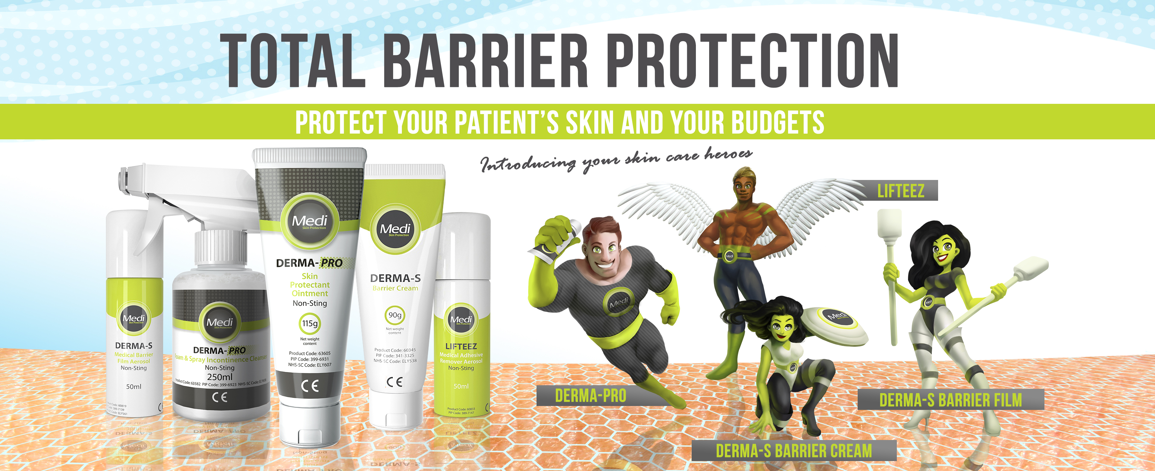 Total Barrier Protection Creative Campaign